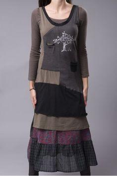 Farb-und Stilberatung mit www.farben-reich.com - Robe longue 2 en 1 Ian Mosh