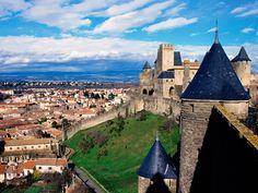 Chateau Comtal, Carcassonne, France - http://imashon.com/w/chateau-comtal-carcassonne-france.html