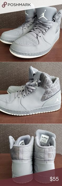f14c40672b5 Spotted while shopping on Poshmark: Nike Air Jordan 1 Flight 3 Wolf Grey/ White