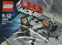 LEGO Movie Micro Manager Battle 30281 Wyldstyle Lucy