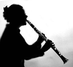 Shadow of a clarinet. Clarinet Pictures, Music Is Life, My Music, Silhouette Pictures, Shadow Silhouette, Different Aesthetics, World Best Photos, Running Away, Black And White Photography