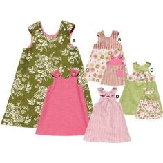 This makes me want to start getting creative and begin sewing Summer's clothes!