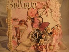 Altered Shabby Chic Box Card