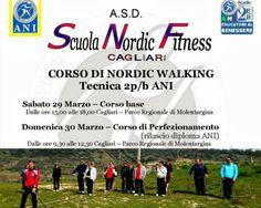 La Scuola Nordic Fitness Cagliari organizza per sabato 28 e domenica 29 marzo un nuovo corso di Nordic Walking.  Il Nordic Walking è una disciplina sportiva che si pratica all'aria aperta, un allenamento dolce che sviluppa resistenza, forza e fitness.   #CorsiCagliari #NordicWalking