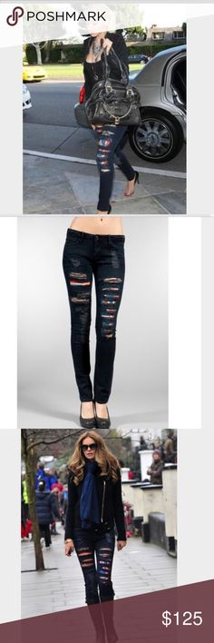 Hudson jeans with British flag 🇬🇧 inside As worn by many celebs such as Christina and models galore. Hudson Jeans Jeans Skinny