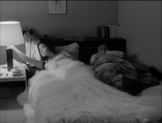 Françoise Fabian and Jean-Louis Trintignant in MY NIGHT AT MAUD'S (1969). Directed by Eric Rohmer.