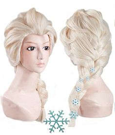 Anogol Hair Cap+ Kids Blonde Cosplay Wig Party Wigs Braid... https://www.amazon.com/dp/B00IQMG5QW/ref=cm_sw_r_pi_dp_x_UGD0ybTV8V2E8