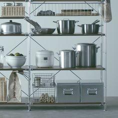 キッチンで使う - Unit Shelf | Compact Life | 無印良品