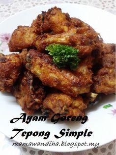 Dari Dapur Madihaa Ayam Kapitan Food En Pinterest Cuisine And