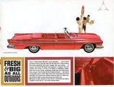 1962 Dodge Custom 880 Convertible