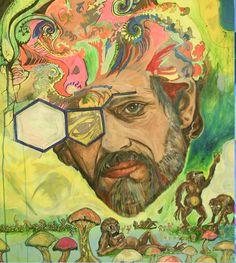 Recordando a Terence Mckenna, el Bardo Psicodélico, a 13 años de su muerte #trippy #psychedelic