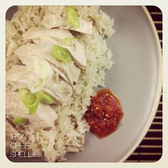 {Thermomix Thursday) Hainanese Chicken Rice