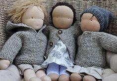 NATURKINDER: PuppenMITmacherei 2015   Puppenpullover/Jacke