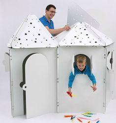 {concours} KABAKA : des cabanes en carton à construire et à décorer !