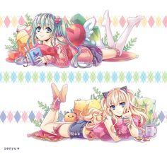 zenyu, VOCALOID, SeeU, Hatsune Miku, Drinks, Coffee