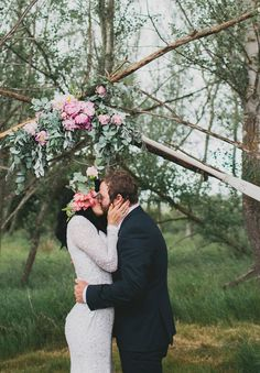 Gorgeous rock and roll wedding
