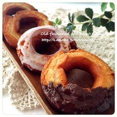 りるのん's dish photo サクサクの幸せドーナツ オールドファッション シュガーグレイズ プレーン   http://snapdish.co #SnapDish #レシピ #おやつ #簡単料理 #北欧風料理グランプリ #ドーナツ/クレープ/パンケーキ #洋菓子の日(9月29日)