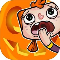 Garfield Halloween Stickers by Bare Tree Media Inc | Apps. to get |  Pinterest | Halloween stickers