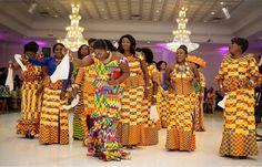 I Do Ghana Photo   A rich display culture of Wendy & Kwame   Ghana wedding   kente bride   African wedding