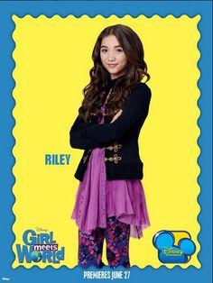 Riley Matthews - Rowan Blanchard #GirlMeetsWorld