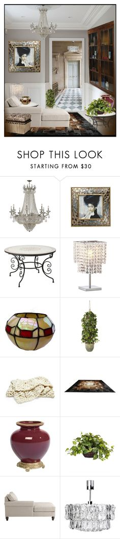 """""""Many ways to decorate !"""" by eco-art ❤ liked on Polyvore featuring interior, interiors, interior design, home, home decor, interior decorating, Jay Strongwater, Zuo, OKA and Ethan Allen"""