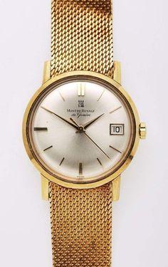 Armbanduhr, Montre Royale, 18 kt GG — Armband- und Taschenuhren
