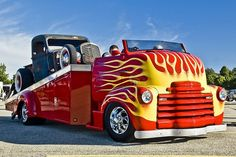 The Best Vintage Cars, Hot Rods, and Kustoms Gmc Trucks, Tow Truck, Cool Trucks, Pickup Trucks, Truck Art, Custom Big Rigs, Custom Trucks, Custom Cars, Rat Rods