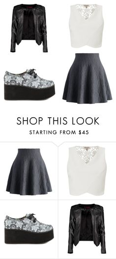"""""""Untitled #13"""" by perianuramona on Polyvore featuring Chicwish, Lipsy, Iron Fist and Boohoo"""