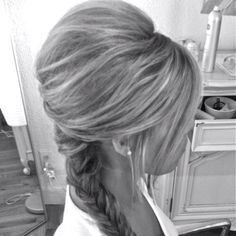 Cute hair idea.