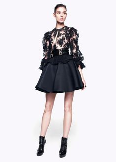 Alexander McQueen Pre-Fall 2012. Not a fan of the whole collection, but this look is killer.