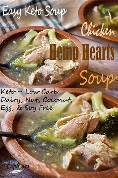 Easy Healthy Recipes, Paleo Recipes, Low Carb Recipes, Soup Recipes, Keto Foods, Keto Meal, Keto Diet For Beginners, Recipes For Beginners, Diet Dinner Recipes