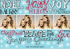 Every way Holiday Photo Card for PhotoAffections.com
