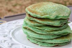 St. Patricks Day Pancakes - Mix and Match Mama