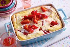 Unser beliebtes Rezept für Quark-Grieß-Auflauf mit Erdbeeren und mehr als 55.000 weitere kostenlose Rezepte auf LECKER.de.