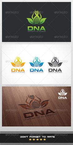 DNA Logo Template #GraphicRiver Beautiful logo suitable for businesses and product names. Easy to edit, change size, color and text. CMYK Ai, and EPS formats fully editable. Description: • 5 AI files • 5 EPS files • 5 Transparent PNG file • 5 JPG file • 5 Color Option Specifications: • Vector based Logo • 300 DPI • CMYK Versions of the logo included: • Full color ( Green, Orange, Blue ) • Black Color • White Color Fonts Used: • Square 721 Cond • Square 721 Extended .font-db…
