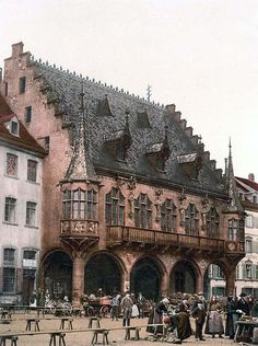 The Market, Freiburg, Baden, Germany