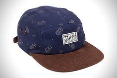 Benny Gold Cloud Paisley 5-Panel Hat