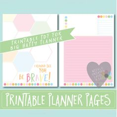HAPPY PLANNER Printable Filler Pages | Planner Refills / BIG Inserts - 8.5x11 | Sorbet | Create 365 | Me & My Big Ideas | mambi |Undated by…