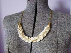 TIMI Elsewhere: Rope and Chain Braided Necklace DIY