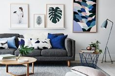 How do you make a multi-use space like the living room comfortable and stylish? As the heart of the home, a living room design is more than just a sofa and TV. It is the room that is reflective of the dweller's personality while accommodating family and friends for many events. A young family found…