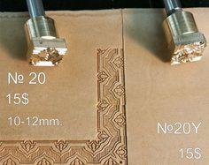 Herramientas para artesanías. Sello #20