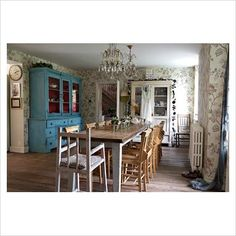 Pearl Lowe's home by Nick Carter at Gap Interiors.