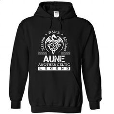 AUNE - Surname, Last Name Tshirts - #thank you gift #mens shirt