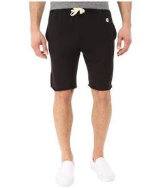 Todd Snyder + Champion Cut Off Sweatshorts (Black) Men's Shorts