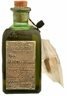 Organic Extra Virgin Olive Oil 250ml - Oro del desierto by Caramba! (Rachel's choice!)