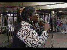 THRILLING & BREATHTAKING ALICE RIDLEY AT NY SUBWAY 1-Midnight train to G...