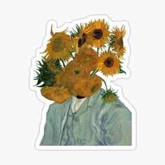 Van Gogh stickers featuring millions of original designs created by independent artists. Stickers Cool, Meme Stickers, Tumblr Stickers, Printable Stickers, Laptop Stickers, New Sticker, Sticker Vinyl, Journal Stickers, Aesthetic Stickers