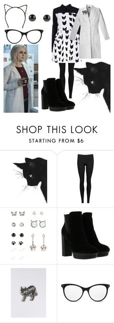 """""""Liv the Cat Lady From iZombie"""" by crazykitsune ❤ liked on Polyvore featuring Vince, Hogan, STELLA McCARTNEY and Tasha"""