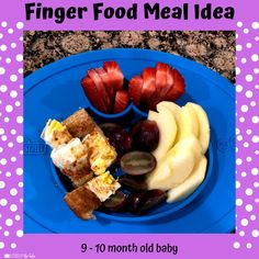 Babies Eating at 10 Months - Lessons By The Lake 10 Months Baby Food, 10 Month Old Baby Food, Healthy Baby Food, Food Baby, Baby Meal Plan, Baby Finger Foods, Baby Foods, Whole Wheat Waffles, Baby Eating