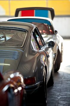 Classic Porsches at the HSRCA's Historic Winter